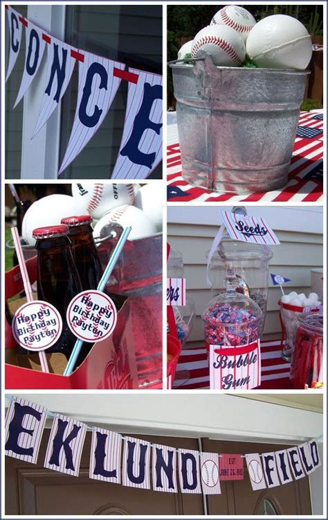 baseball themed pictures decorations baseball themed baby shower pinterest