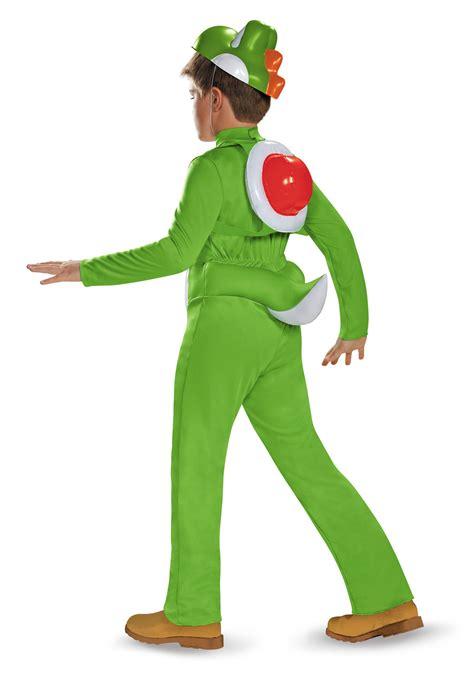 yoshi costume boys yoshi deluxe costume