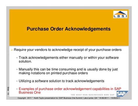 Acknowledgement Letter Against Purchase Order 10 Ways To Improve Your Purchasing Department