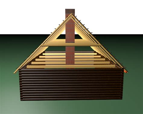 what is an a frame house roofing lift existing roof frame to replace top logs in