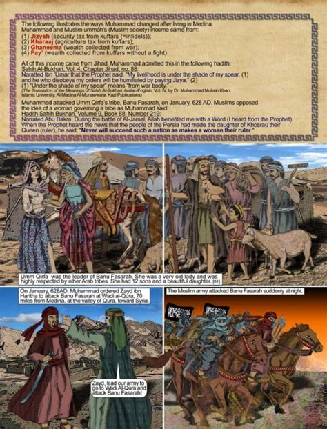 biography prophet muhammad illustrated video the killing of umm qirfa jinns and shooting