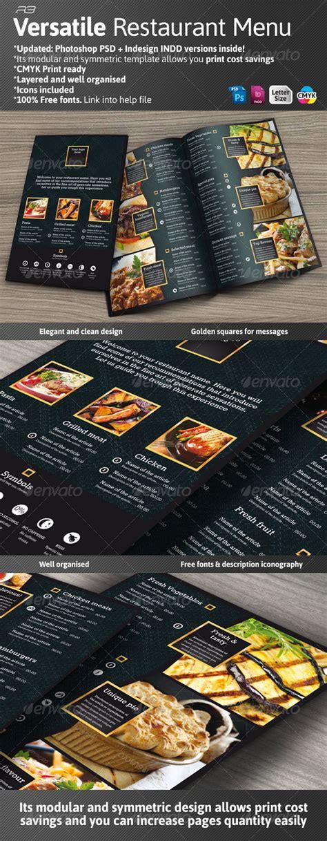 60 Premium Restaurant Menu Templates Dzineflip Black Menu Template