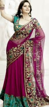 Tradition and latest fashion saree collection 2012 13 hairstyle