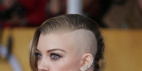 natalie dormer shave natalie dormer shaves for the hunger mockingjay