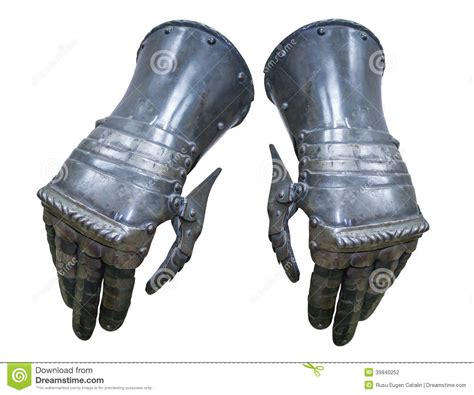 Armoir Gloves by Armor Gloves Stock Photo Image 39840252