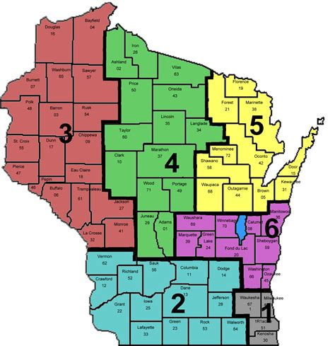 wisconsin counties map dor revaluation resources contract specifications list of certified municipal assessment help