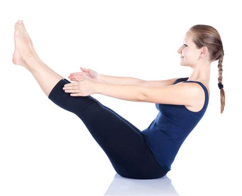 boat pose chest press 10 minute yoga sequence to start your day