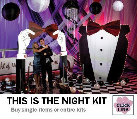 jquery themes black tie this is the night black tie prom decorations entire kit