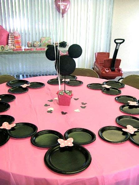 Minnie Decorations by Minnie Mouse Birthday Ideas Pink Lover