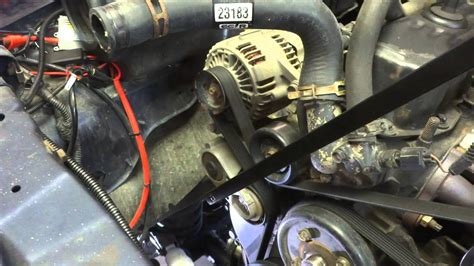 1997 jeep wrangler alternator wiring on a picture of a