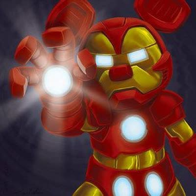 Mouse Iron marvel disney mashups how the merger will affect the characters damn cool pictures
