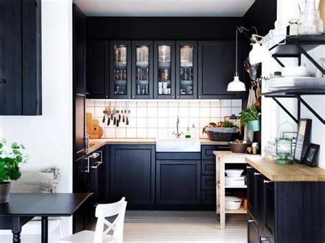 selbstgebaute küche k 252 che k 252 che schwarz wei 223 ikea k 252 che schwarz k 252 che