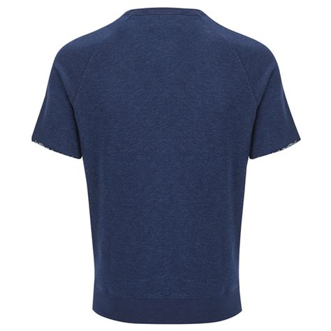 Kitsune Sweat Shirt Palais Roayl Black White maison kitsun 233 s sleeve sweatshirt indigo