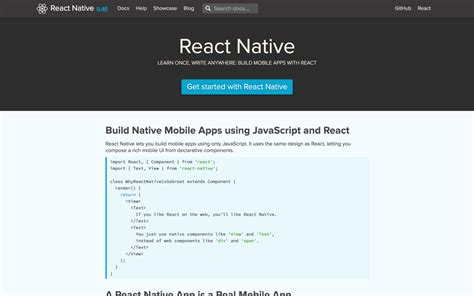 react native router tutorial 5 reasons why i chose react native over traditional app
