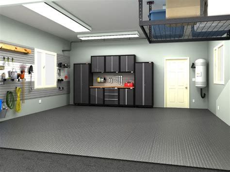 increase home value with custom garage cabinetry floors