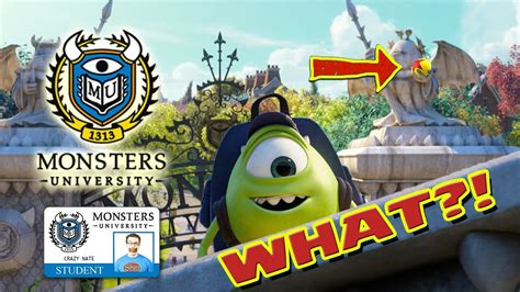 video of monster monsters university everything you missed youtube