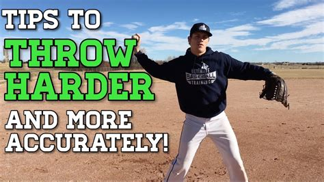 8 Tips For Throwing The by Baseball Throwing Tips To Throw Harder And More Accurately