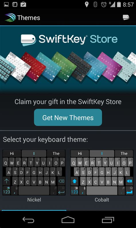 new themes swiftkey swiftkey is now free and has a bunch of new themes