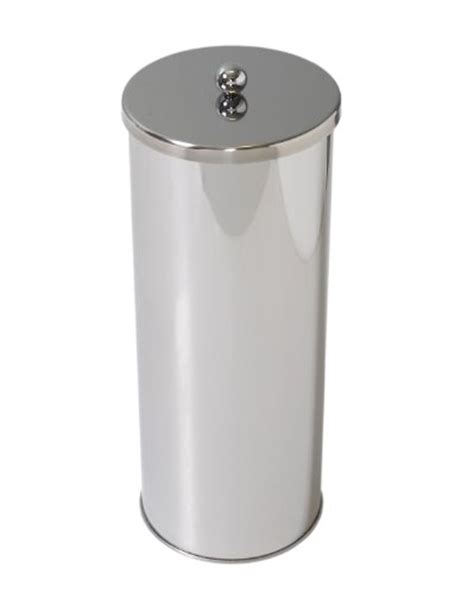 toilet paper roll storage toilet paper holder roll canister bathroom storage tissue chrome stainless steel ebay