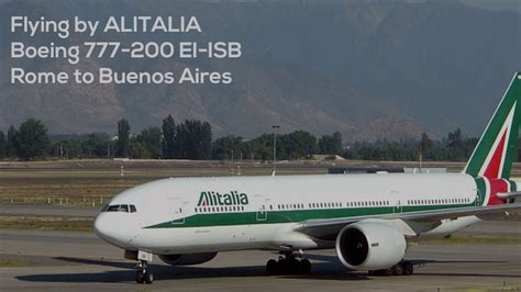 boeing 777 alitalia interni flying by alitalia boeing 777 200 ei isb rome to buenos