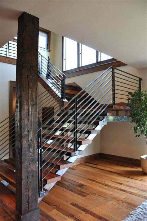 contemporary stair banisters modern stair railings for the home ideas pinterest