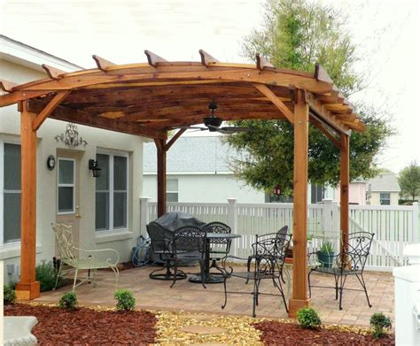 backyard pergola kits cedar wood pergola kits