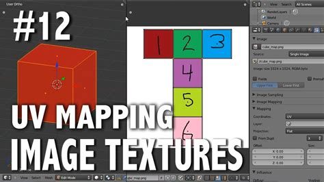 tutorial blender uv mapping blender 2 6 tutorial 12 uv mapping image textures
