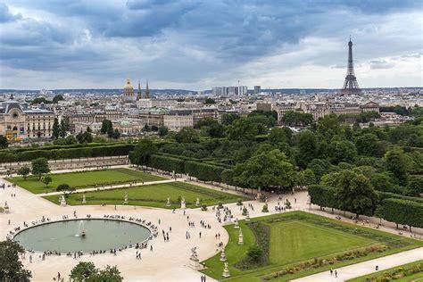 giardini della tuileries a walking tour of 19th century in louvre tuileries