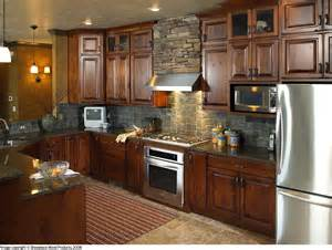 Hickory Wood Cabinets Kitchens Rustic Hickory Kitchen Cabinets Some Of These Kitchens