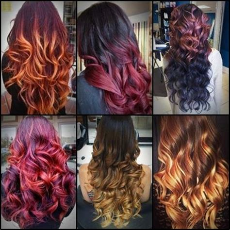 beautiful hair colors beautiful ombre hair colors future hair colors