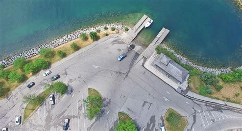public boat launch at bass lake lakefront promenade spoonpullers
