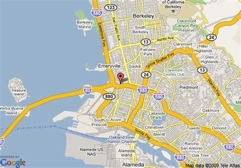 california map emeryville map of extended stay america oakland emeryville emeryville
