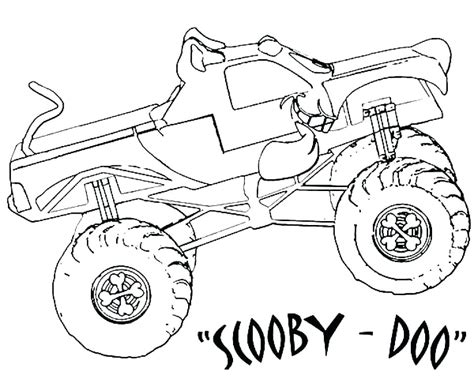 monster coloring page images