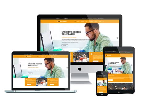 Free Responsive Templates by Et Web Design Free Responsive Web Design Joomla Template