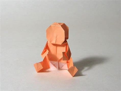 How To Make A Paper Baby - baby robert j lang happy folding