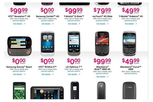 t mobile deals on cell phones