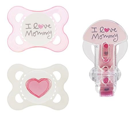 Mam Baby Pacifier 0m 1 dr brown s lovey pacifier and teether holder 0m