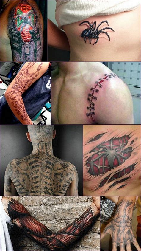 3d tattoo gallery awesome 3d tattoos photos