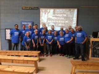team schaumburg supports feed my starving children royal