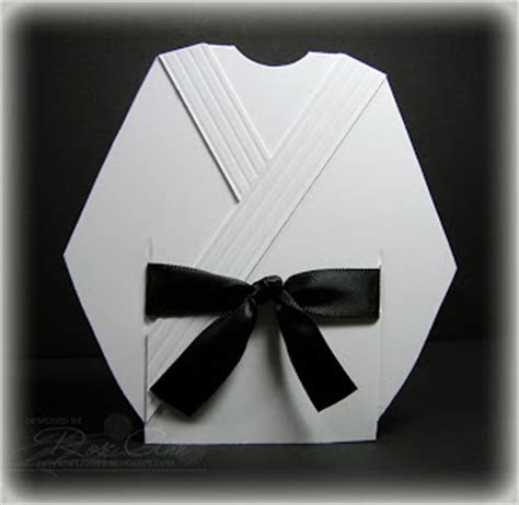 karate gi by cutterscallous cards and paper crafts at