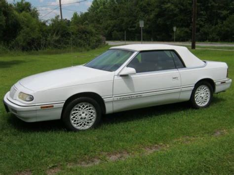 94 Chrysler Lebaron Convertible by Buy Used 1994 Lebaron Gtc Convertable In Screven