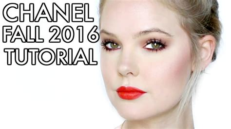 tutorial eyeliner chanel chanel makeup tutorial 2016 makeup vidalondon