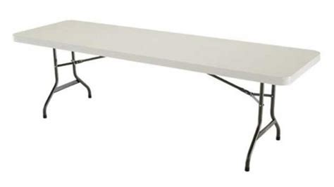 length of rectangle table white folding tables style and design