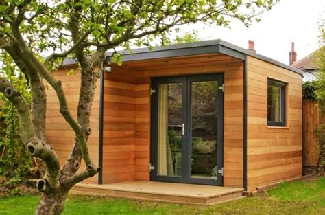 Garden Home Office Design Garden Rooms Are Energy Efficient Structures For Your