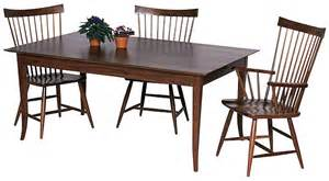 Shaker Dining Room Table by Shaker Style Dining Room Table Plans Woodideas