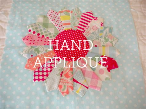 Decorative Ideas by How To Hand Appliqu 233 A Tutorial