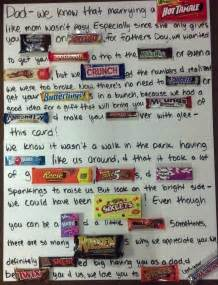 michelle mae inspired late father s day post candy letter