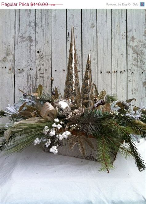 christmas centerpiece elegant silver table centerpiece
