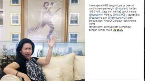 Sofa Inul Di Lung inul tersinggung ikke nurjanah tulis ini di instagram