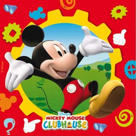 Turtle Decorations For Home by Mickey Mouse Clubhouse Napkins In Packs Of 20 Party Wizard